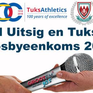 HS Uitsig en Tuks Aflosbyeenkoms 2018