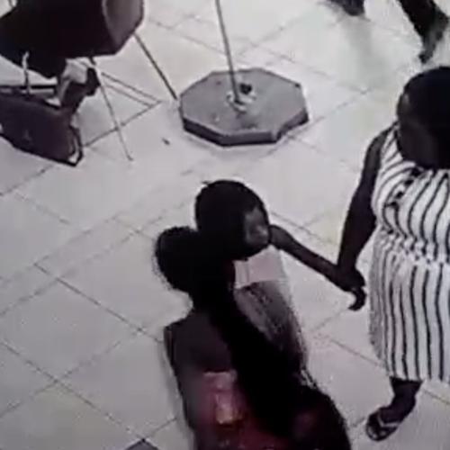 Skok video van kind wat steel vir ma!