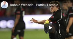 Robbie Wessels skryf lied vir Patrick Lambie!