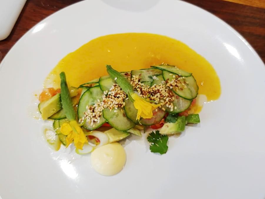 Ramon Gouws – Salm, Avocado en Komkommer Taco