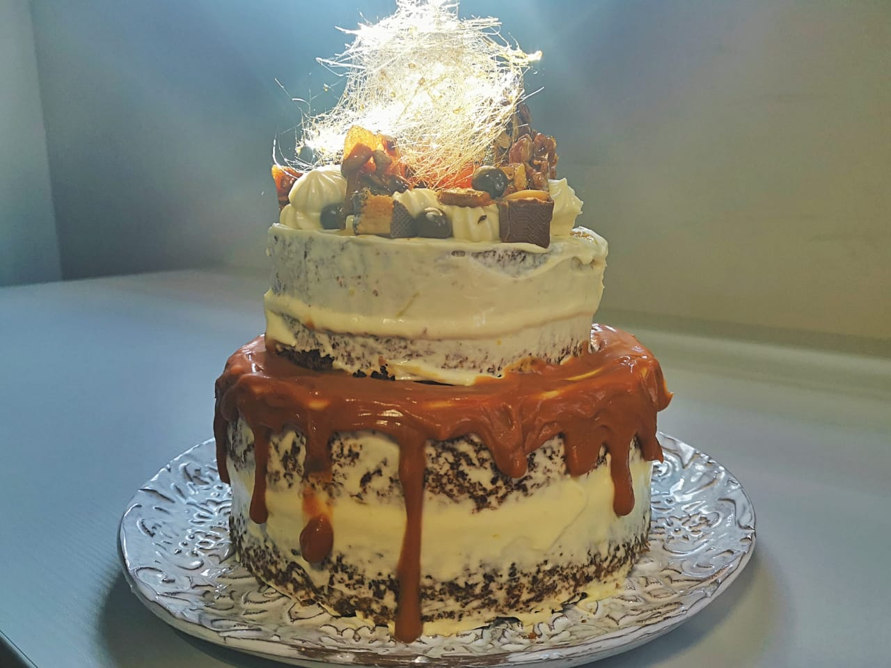 Suzanne Crozier – Carrot cake with cream cheese icing