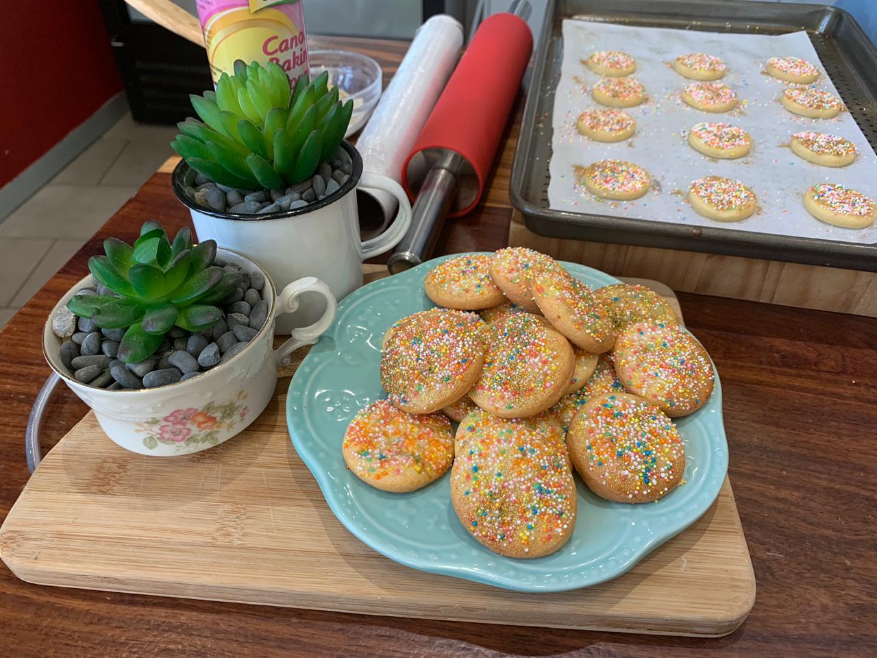 Lanadene Bron – Kleurvolle Konfetti-koekies