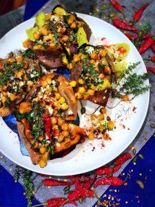 Izelle Hoffman – Stuffed Sweet Potatoes