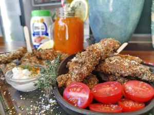 Izelle Hoffman – Lemon garlic chicken strips