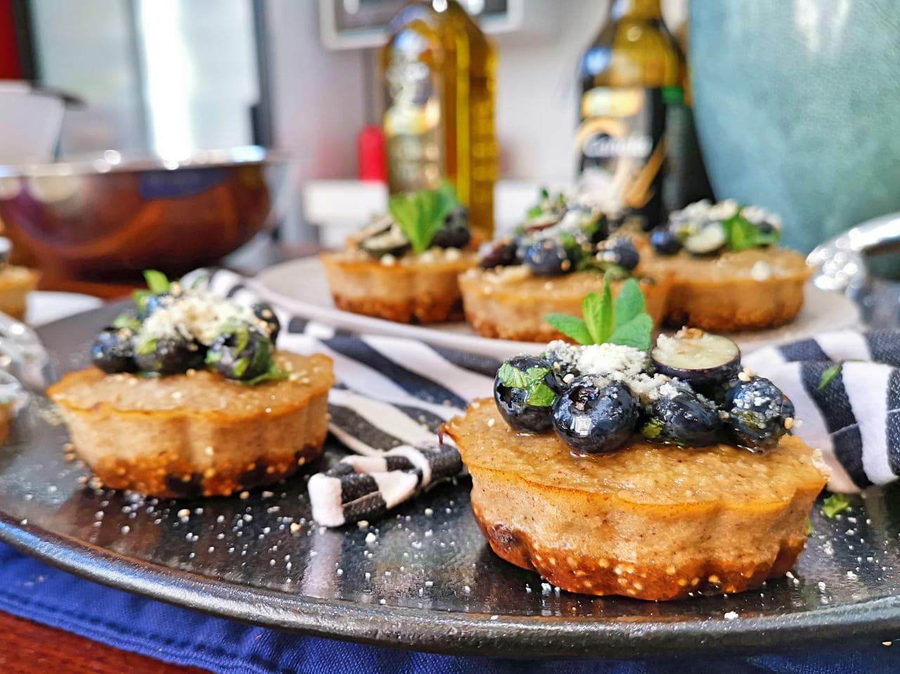 Izelle Hoffman – Blueberry Tartlets