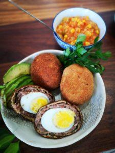 Suzanne Crozier – Boerewors Scottish Eggs