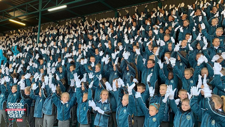 #SKOOLMETDIEBESTEGEES Laerskool Stephanus Roos