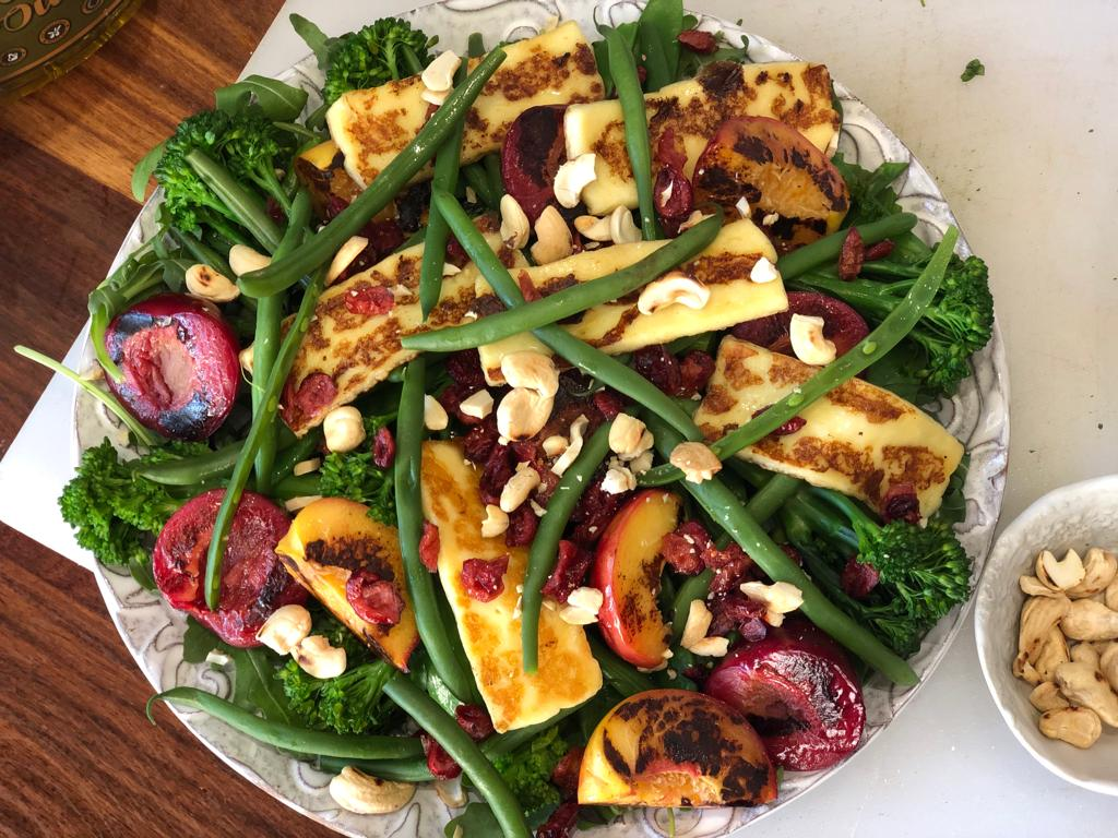 Suzanne Crozier – Vegetable and Roasted Fruit Salad