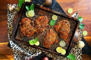 Izelle Hoffman – Sweet Basil BBQ Chicken Tray Bake