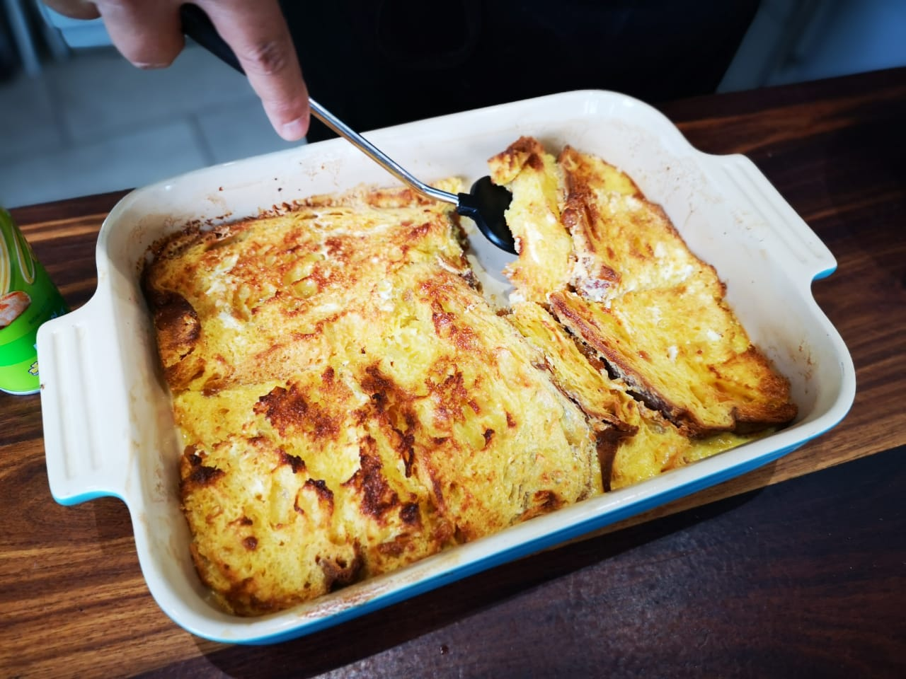 Fortunato Mazzone – Bread and butter pudding