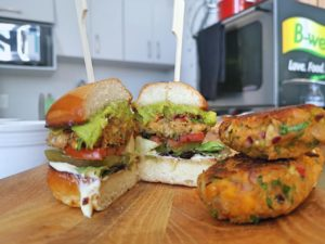 Karen Blanché – Chickpea Vegan Burgers