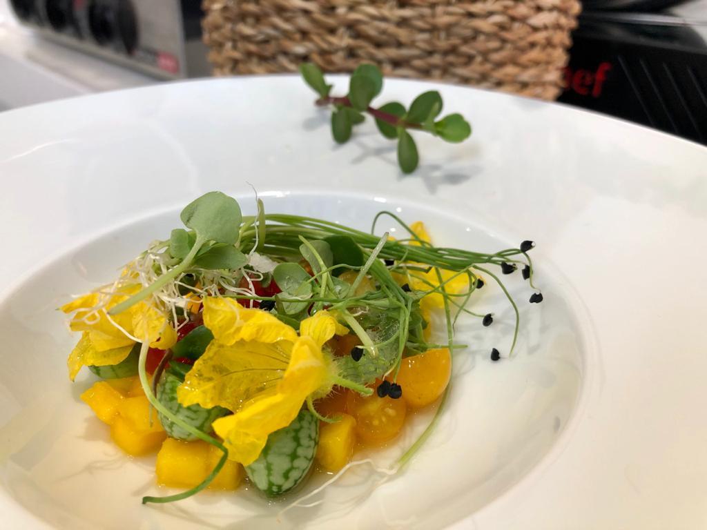 Ramon Gouws – Spekboom and Mango Salad