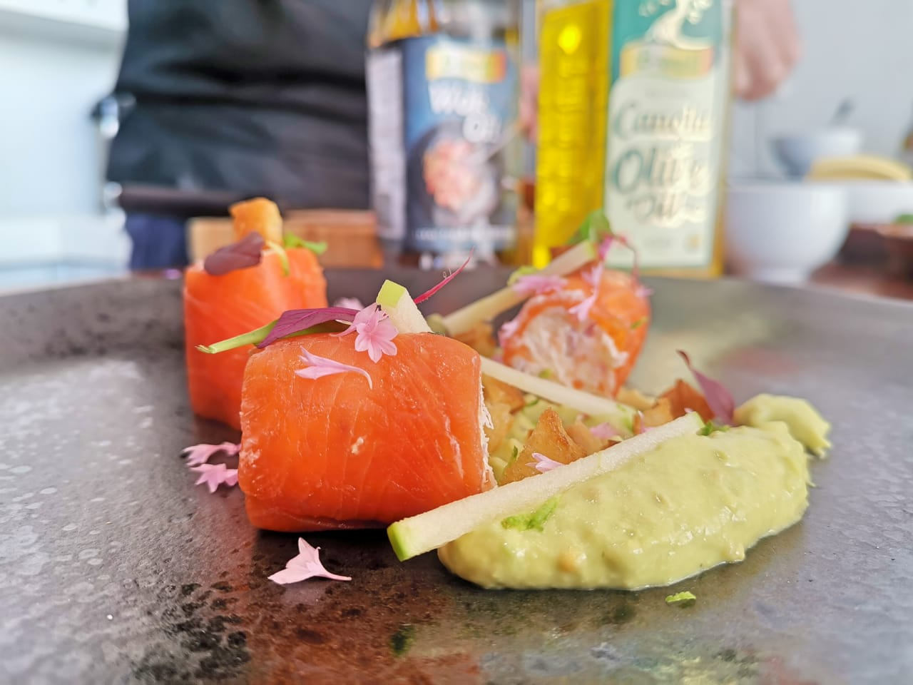 Pellie Grobler – Trout Roulade