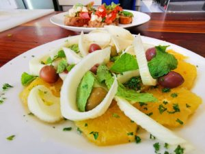 Fortunato Mazzone – Sicilian Orange Salad with summer Bruschetta