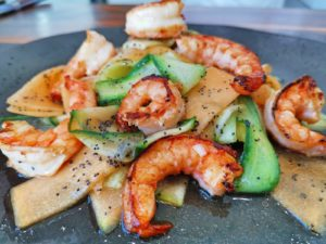 Suzanne Crozier – Prawn, melon and poppyseed salad