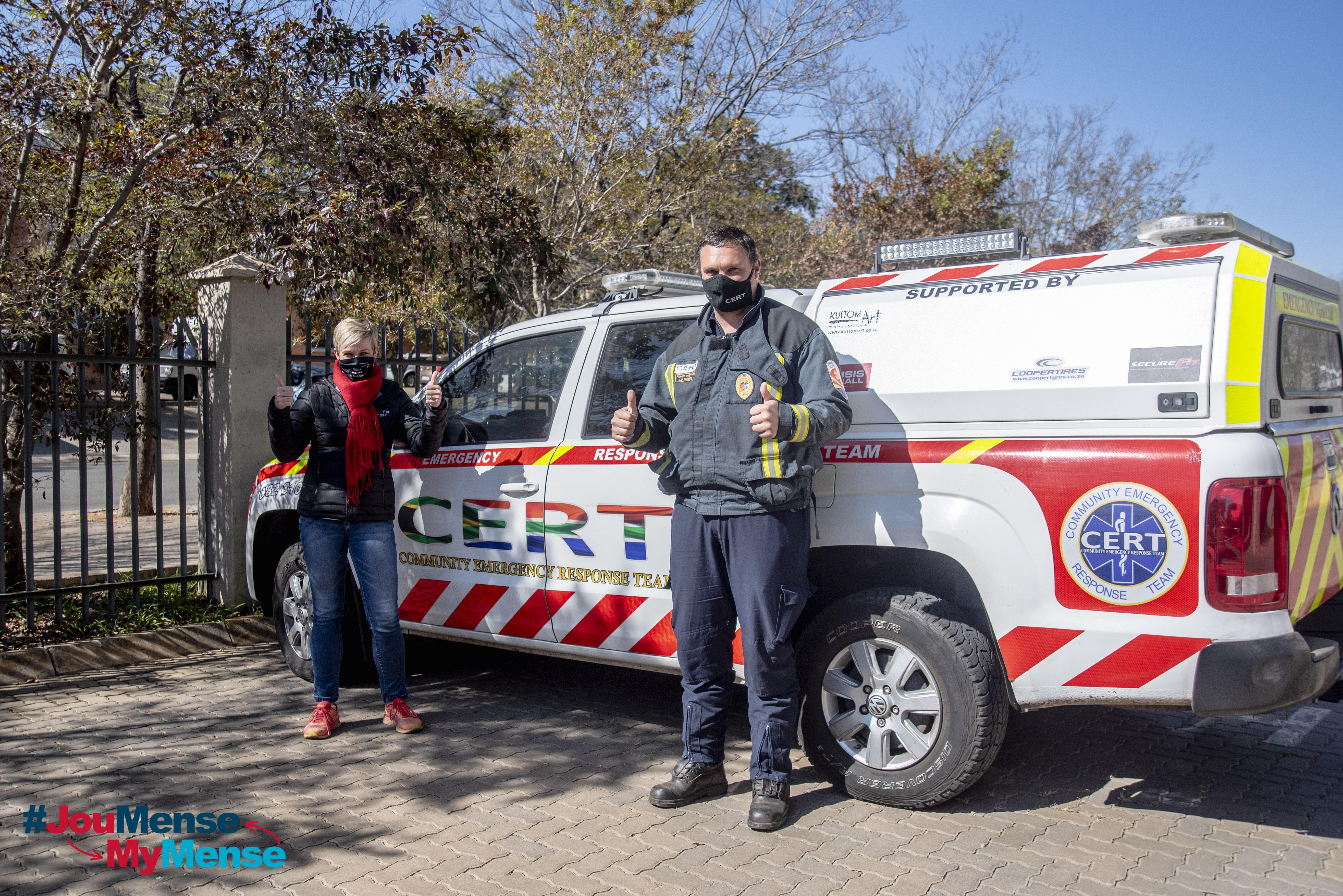 #JouMenseMyMense met SPAR – Paramedikus, Ruan Heyns, 24 Junie