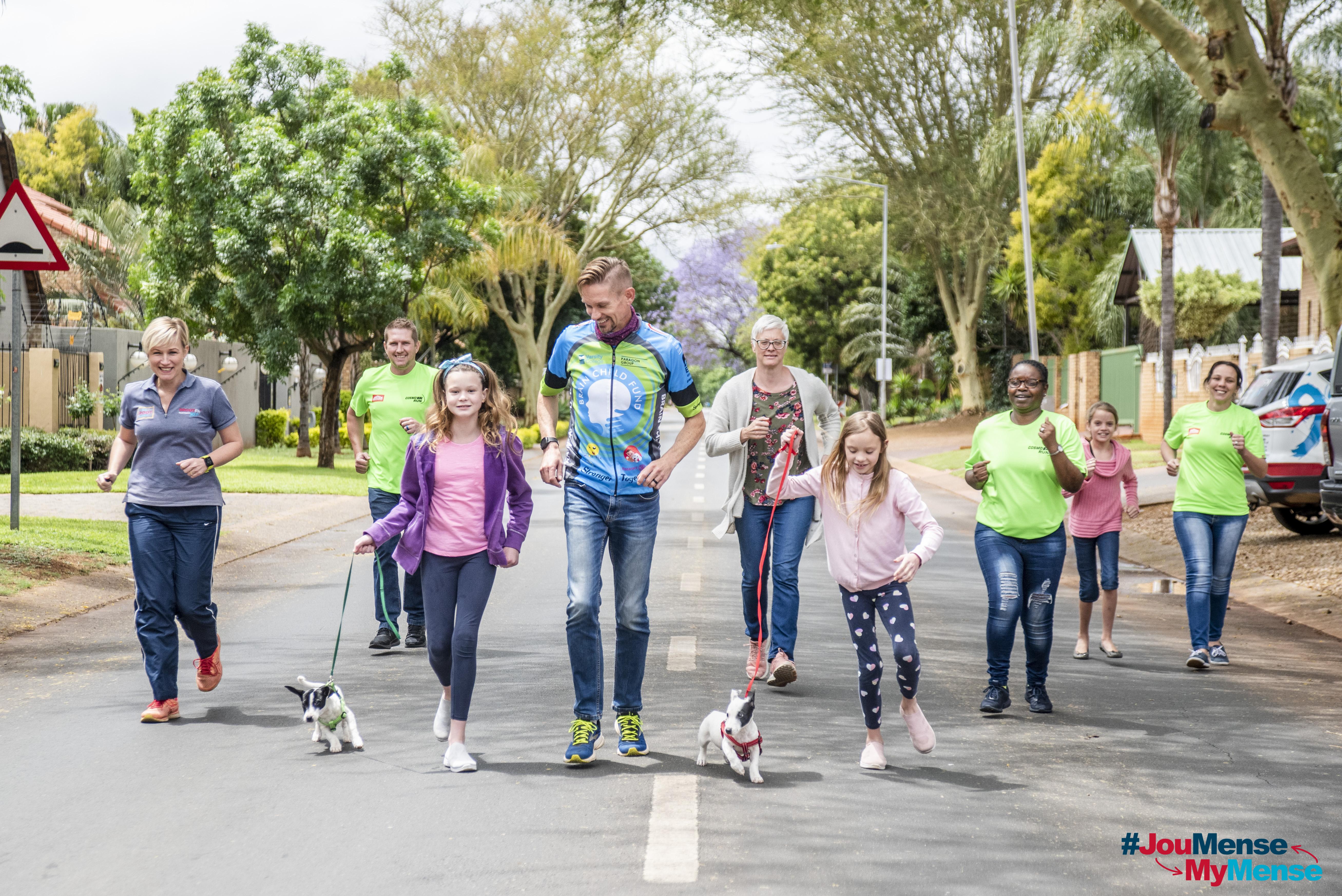 #JouMenseMyMense saam met SPAR – Rupert van Vuuren se 1000 marathonne vir kinders